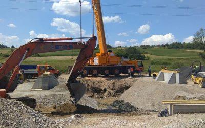 Projekt Dugo Selo – Križevci: regulacija prometa tijekom studenog
