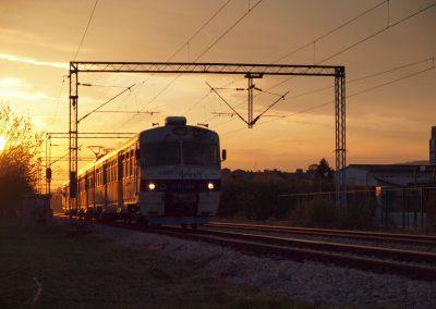 Vlak u sumrak