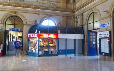 Zagreb 7 – Glavni kolodvor – prostor za zakup
