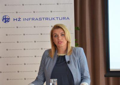 Državna tajnica za promet Nikolina Brnjac