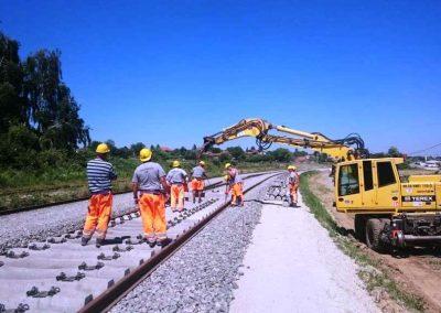 Gradnja nove pruge Gradec-Sv. Ivan Žabno
