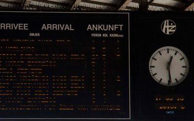 Prelazak na zimsko računanje vremena i željeznički promet