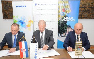 Sporazum HŽ Infrastrukture, KONČAR-KET-a i Grada Vinkovaca