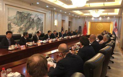Hrvatska delegacija u službenom posjetu Kini