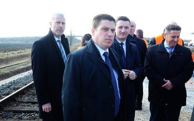 Ministar Butković posjetio gradilište pruge Zaprešić – Zabok