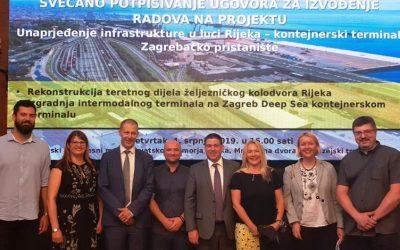 Potpisan ugovor za radove na Zagrebačkom pristaništu