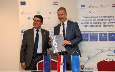 Počinju radovi na modernizaciji pruge Vinkovci – Vukovar