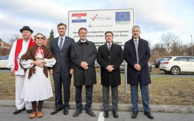 Svečano otvorena nova pruga između Gradeca i Sv. Ivana Žabna
