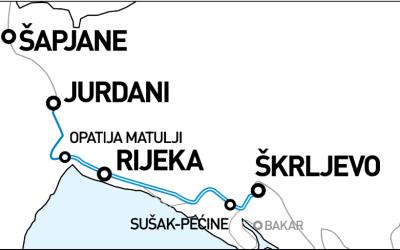 Prezentacija EU projekta Škrljevo – Rijeka – Jurdani