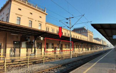 Zagreb – Glavni kolodvor – prostor za zakup – bivši restoran