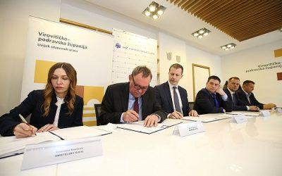 Potpisan ugovor za obnovu pruge Virovitica – Pitomača