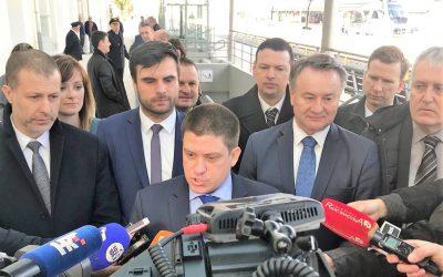 Ministar Butković obišao obnovljeni kolodvor Sisak