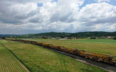 Obnova pruge od Virovitice do Pitomače u punom jeku