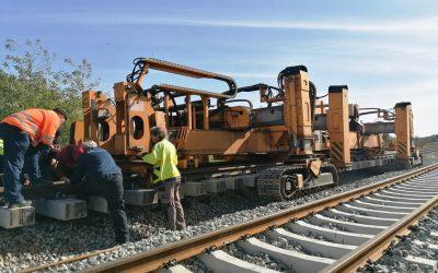 Na pruzi Virovitica – Pitomača dovršene gotovo dvije trećine radova