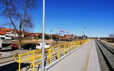 Završena rekonstrukcija željezničkog stajališta Dubrava Zabočka