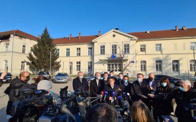 Ministar Butković obišao potresom pogođeni kolodvor Sisak