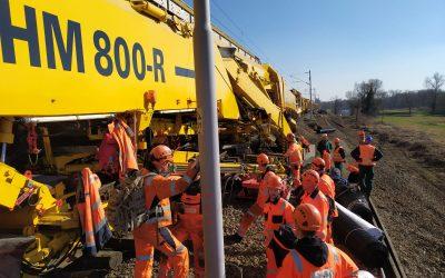 Intenzivni radovi na obnovi pruge između Zaprešića i Podsuseda