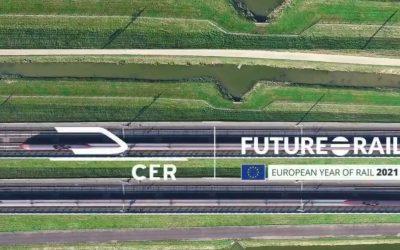 Doček vlaka Connecting Europe Express