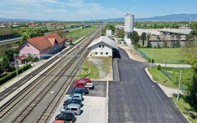 Uređeno novo parkiralište uz kolodvor u Velikoj Gorici