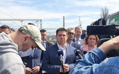 Ministar Butković obišao projekt Zaprešić – Zabok