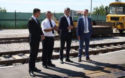 Obnovljen željeznički kolodvor Otok u Vukovarsko-srijemskoj županiji